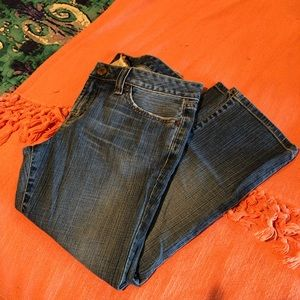 Vintage Lucky Brand Crop Jeans Size 28